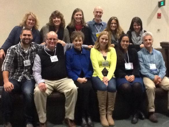 The fabulous group of colleagues I was honored to present with at NCTE 2013 in Boston.