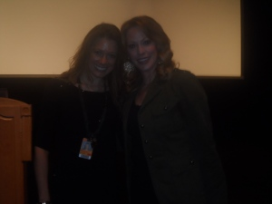 Me with WGN reporter, Amy Rutledge!