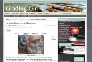 Parent Blogging